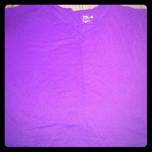 Women jms purple half sleeve blouse